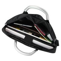 公文包13.3/14英寸笔记本电脑包单肩手提公事包