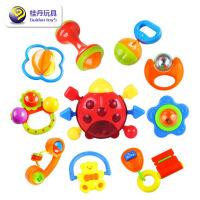 维莱 婴儿摇铃0-1岁宝宝手摇铃10件套装 手摇铃 婴儿玩具1228