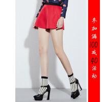 [51-101]新款女士裤子女裤休闲短裤0.23