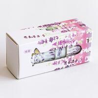 流星雨 花语系列套装和纸胶带 樱花节气学生diy手帐装饰贴画5卷入