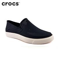 Crocs休闲鞋 夏季卡骆驰户外男鞋都会街头洛卡便鞋 男凉鞋|202363 都会街头洛卡便鞋