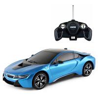 宝马i8遥控汽车 遥控车遥控开门变形汽车儿童玩具车模 德国宝马BMW 官方授权遥控汽车