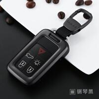 沃尔沃钥匙包xc60适用金属钥匙壳套扣无钥匙启动 xc60一站购