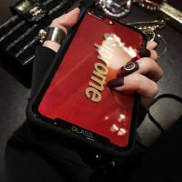 苹果X手机壳女挂绳iPhone7plus全包防摔6s简约8p新款网红韩国 iPhone X