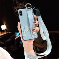 苹果x手机壳新款iphone8plus女款xs max带挂绳挂脖式6全包防摔八韩国潮牌6s个性创意x i6/6s 4.