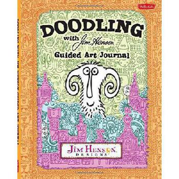 【预订】Doodling with Jim Henson Guided Art Journal 美国库房发货,通常付款后3-5周到货!