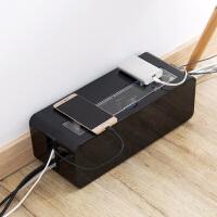 桌面电线插排插板收纳盒插线板集线盒电源线插座数据线收纳整理盒