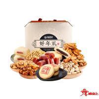 苏稻--好年礼糕点坚果礼盒2016g
