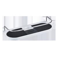 浴室花洒置物架洗手台卫浴收纳架可升降壁挂式卫生间置物喷头挂件 白色