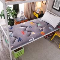 加厚海绵床垫1.8m床 学生宿舍榻榻米1.5m床褥子垫被单人0.9m1.2米o3x