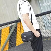 男士包包2018新款牛津纺单肩包迷你小包 休闲多功能手机包斜挎包