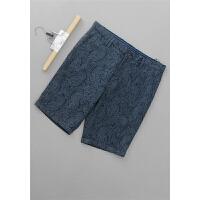 [95-301]亚麻新款男装裤子休闲短裤0.28