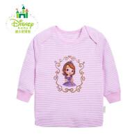 迪士尼Disney 婴儿服装宝宝 纯棉睡衣 春装 活动肩上衣153S685
