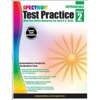 【现货】英文原版 Spectrum 光谱考试强化训练 2年级(7-8岁) Spectrum Test Practice