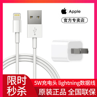 Apple/苹果原装数据线iphone7/6plus手机正品11pro套装xsmax充电线8p充电器头正版ipad加长