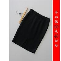 [B16-901-5]羊毛OL半身裙中裙一步裙0.54