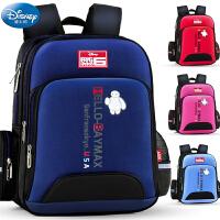 迪士尼男童背包1一3年级三女童儿童书包小学生女孩男孩护脊减负
