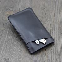 索尼SONY 1TB 移动硬盘保护套HD-E2A 2TB收纳包 皮套防刮袋 双层 黑色