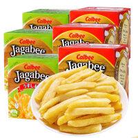 calbee卡乐比日本进口薯条三兄弟90gx3盒膨化北海道网红小吃零食品