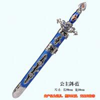塑料玩具刀剑枪青龙宝剑尚方宝剑表演剑天王宝剑模型武器