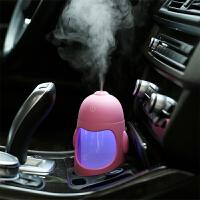 企鹅汽车加湿器 车用空气净化器车载加湿器喷雾迷你车内除味
