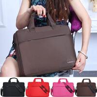 笔记本电脑包14寸15寸15.6英寸单肩潮包手提男女笔记本包