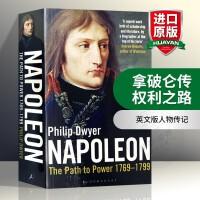 拿破仑传 权利之路 英文原版书 Napoleon The Path to Power 卷一 法国军事家拿破仑 英文版人