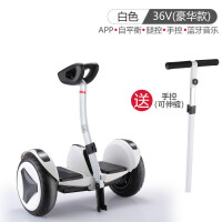 2018新款 智能平衡车思维体感车儿童双轮滑板车带扶手漂移车 36V