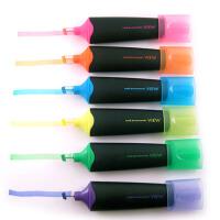 三菱荧光笔 UNI USP-200 透明笔头标记笔 荧光笔