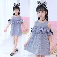 女童连衣裙夏新款儿童夏装韩版背带裙子中大童夏季时尚