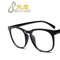 新款复古圆形眼镜框2293 时尚潮流眼镜框架 瘦脸平光镜