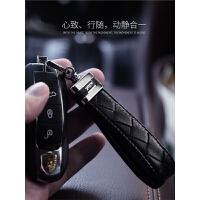 汽车钥匙扣男士女车钥匙挂件创意腰挂编织钥匙链