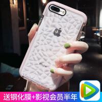 网红苹果8plus手机壳iphone7潮6splus女ip6硅胶6s透明i6plus全包i8防摔i7