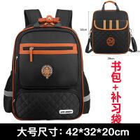 韩版儿童书包男生双肩包小学生1-3-4-6年级5女生防水轻便减负背包