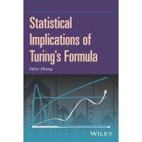 【预订】Statistical Implications of Turing's Formula 9781119237