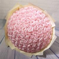 香皂玫瑰花束�Y盒 圣�Q情人��Y物送女友��意生日��用�Y品