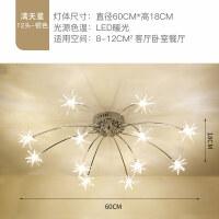 客厅灯LED吸顶灯简约现代大气温馨创意卧室餐厅灯满天星北欧灯具