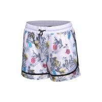 李宁夏训练系列女子运动短裤梭织运动裤女款AKSM074