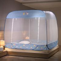 蚊帐免安装蒙古包1.8m床双人家用1.5米床学生宿舍1.2