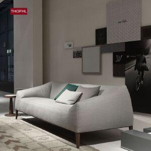 N空间 超感北欧沙发设计师款W1837 组合沙发转角沙发牛皮沙发羽绒沙发乳胶沙发