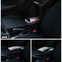 北京现代伊兰特elantra出租车版汽车扶手箱改装配件USB手扶箱