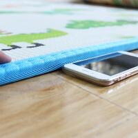 婴儿童宝宝爬行垫加厚 泡沫游戏毯 客厅地垫 爬爬垫2cm 青青草原+动物方格 200CM*180CM*2CM