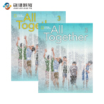All Together 3级别学生用书+练习册 英语原版进口少儿英语教材美国国家地理少儿英语教材