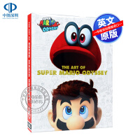 英文原版 超级马里奥奥德赛 精装 艺术设定集 The Art of Super Mario Odyssey 任天堂游戏
