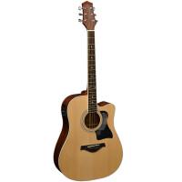 ?单板民谣木吉他电箱琴41寸初学者学生入门面单吉他?