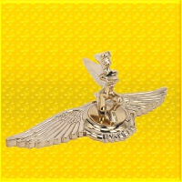 3D立标 女神立标 自由女神立标 飞鹰美女车头立标 通用机盖立标 汽车用品