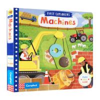 小小探索家系列 机器 英文原版 First Explorers Machines 英文版儿童英语启蒙绘本 幼儿交通工具