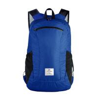 旅行可折叠双肩小背包时尚轻便防水登山包骑行学生书包收纳皮肤包 18L防水升级款