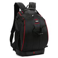 户外旅行佳能相机包尼康防盗双肩摄影包单反包摄影背包双肩包 黑色送防雨罩