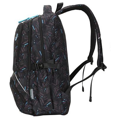 初中小学生休闲旅行背包 双肩包男女大容量高中学生书包
